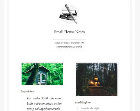 smallhousenotes